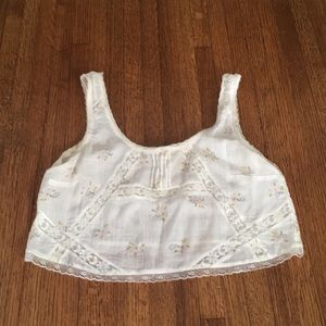 Billabong Cropped Lace Top